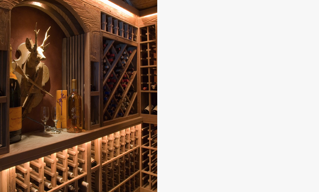 Unique Projects Wine Cellar